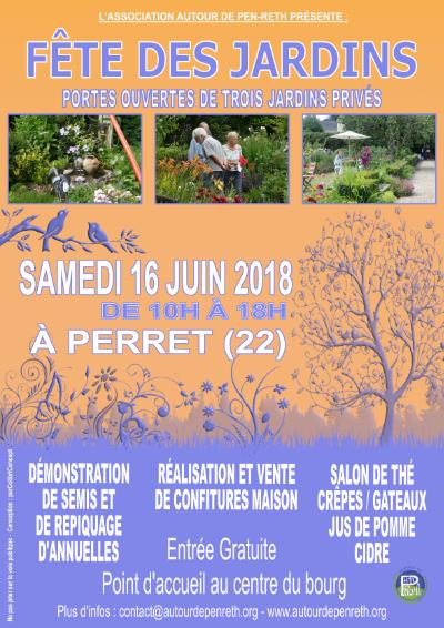 Affiches Trois jardins 2018