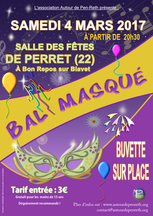 Soirée bal Masqué 04-02-2017
