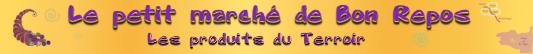 Logo Le petit marché de Bon repos